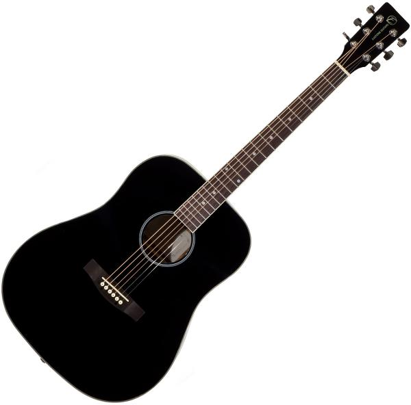 Acoustic guitar & electro Eastone DR100-BLK - Black