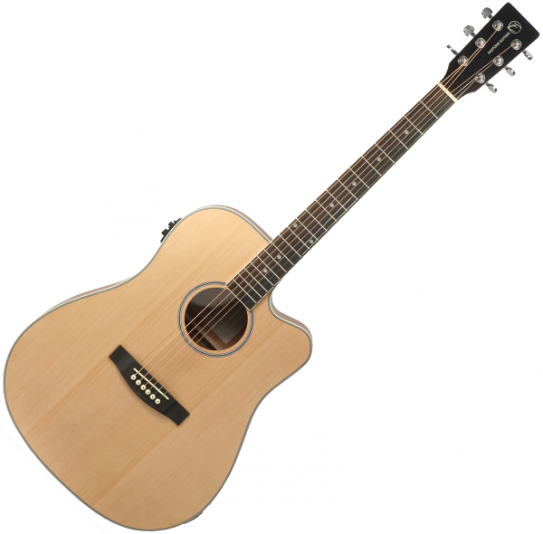 Acoustic guitar & electro Eastone DR100CE-NAT - Natural