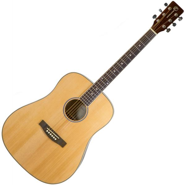 Acoustic guitar & electro Eastone DR160-NAT-G - Natural gloss