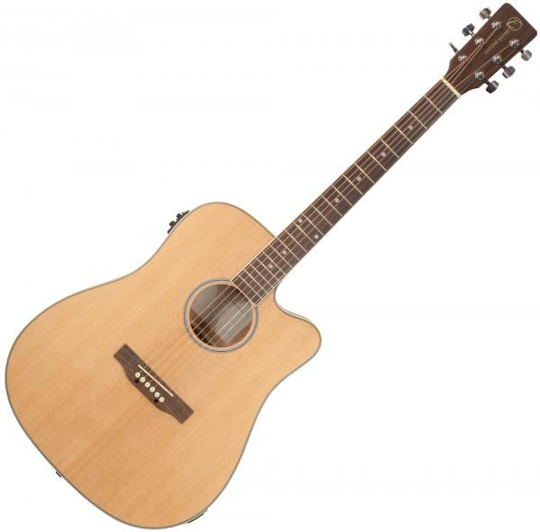 Acoustic guitar & electro Eastone DR160CE-NAT - Natural
