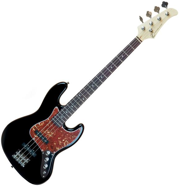 Solid body electric bass Eastone JAB (PUR) - Black
