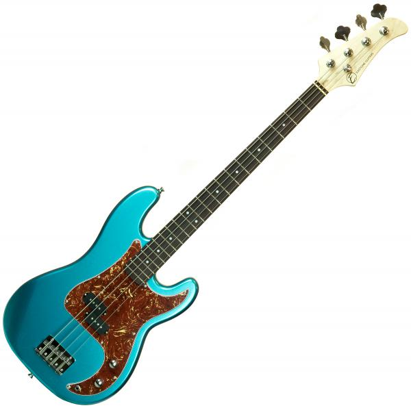 Solid body electric bass Eastone PRB (PUR) - Metallic light blue