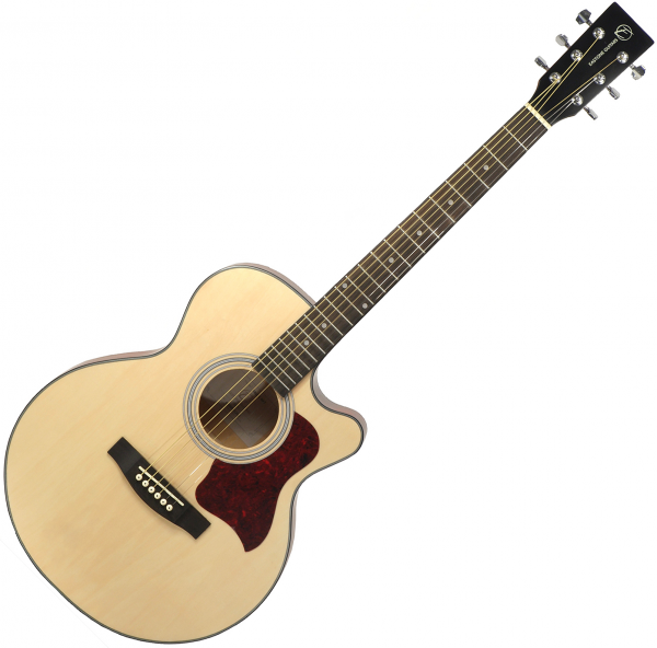 Acoustic guitar & electro Eastone SB20C-NAT - Natural matte