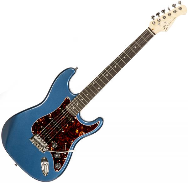 Solid body electric guitar Eastone STR70T LPB (PUR) - Lake placid blue