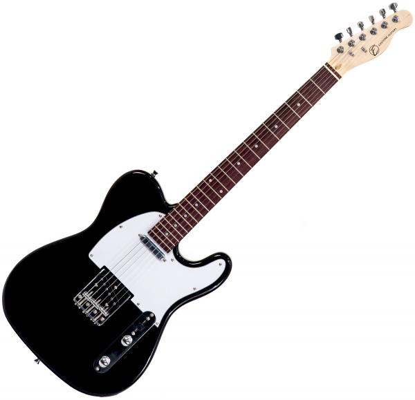 Solid body electric guitar Eastone TL70 (PUR) - Black