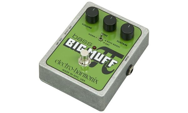 Overdrive, distortion, fuzz effect pedal for bass Electro harmonix Bass Big Muff Pi Classic USA