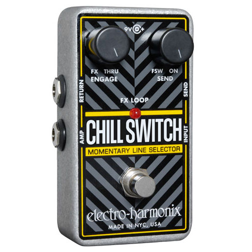 Switch pedal Electro harmonix Chillswitch, Momentary Line Selector