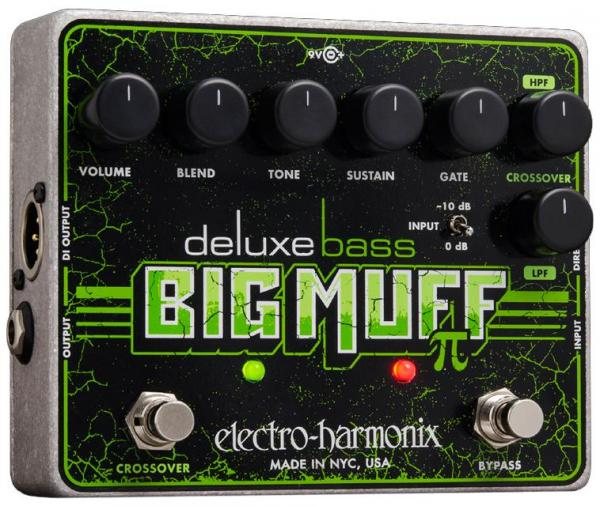 Overdrive, distortion, fuzz effect pedal for bass Electro harmonix Deluxe Bass Big Muff