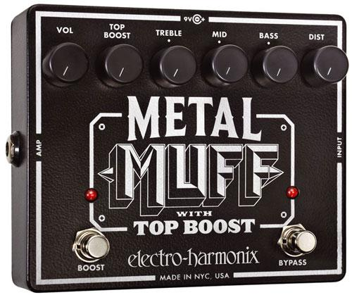 Overdrive, distortion & fuzz effect pedal Electro harmonix Metal Muff