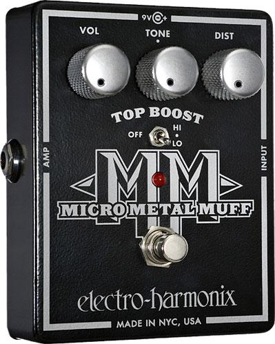 Overdrive, distortion & fuzz effect pedal Electro harmonix Micro Metal Muff