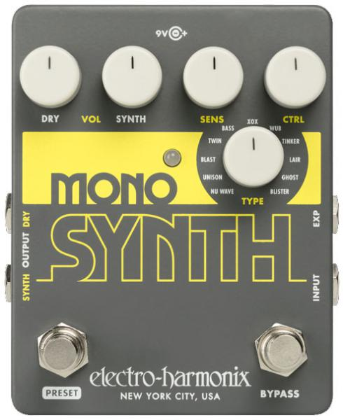 Guitar synthesizer Electro harmonix Mono Synth Guitar Synthesizer