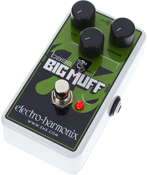 Overdrive, distortion, fuzz effect pedal for bass Electro harmonix Nano Bass Big Muff Pi