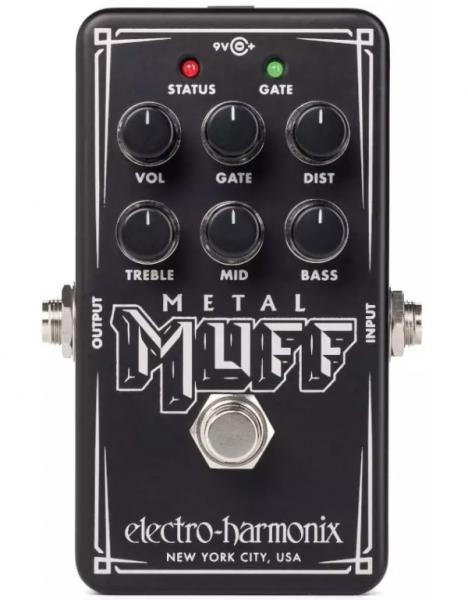 Overdrive, distortion & fuzz effect pedal Electro harmonix Nano Metal Muff Distortion