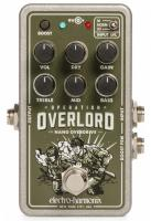 Overdrive, distortion & fuzz effect pedal Electro harmonix Nano Operation Overlord Allied Overdrive
