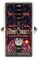 Compressor, sustain & noise gate effect pedal for bass Electro harmonix Tone Corset