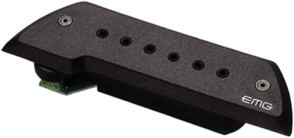 Acoustic guitar pickup Emg                            ACS Soundhole - Black