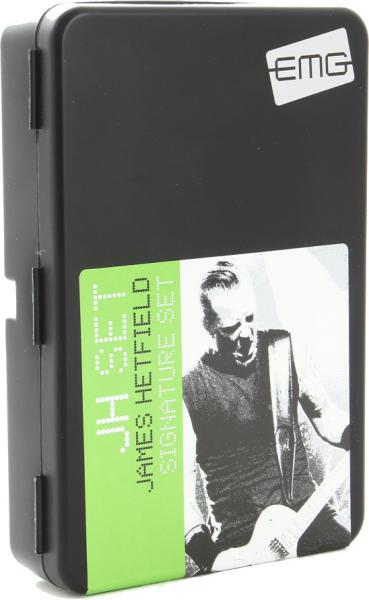 Electric guitar pickup Emg                            James Hetfield JH Het Signature Set