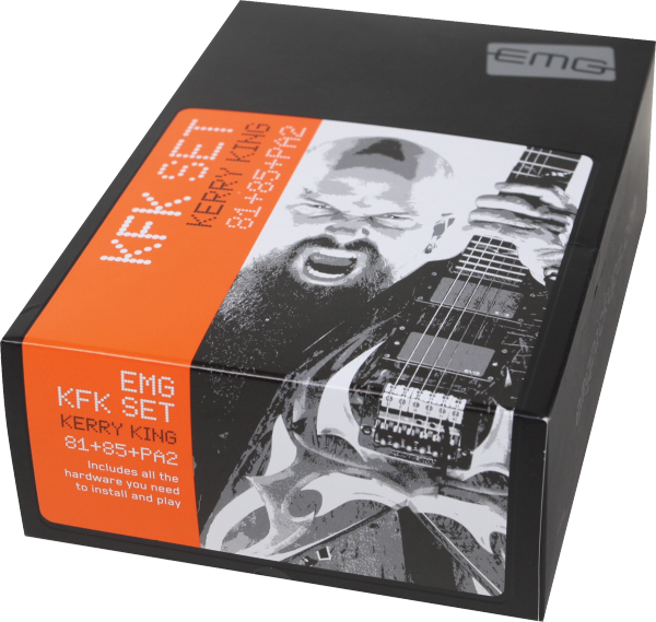 Electric guitar pickup Emg                            Kerry King KFK Signature Set