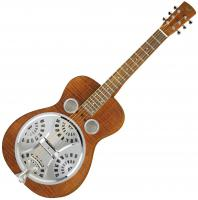 Dobro resonator Epiphone Dobro Hound Dog Deluxe Square Neck - Vintage brown