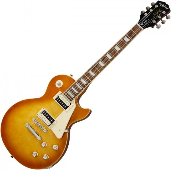 Solid body electric guitar Epiphone Les Paul Classic Modern - honey burst