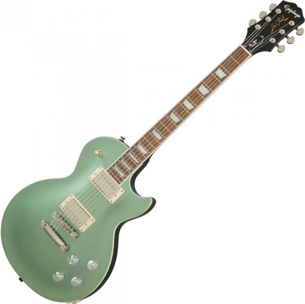 Solid body electric guitar Epiphone Les Paul Muse Modern - Wanderlust green metallic