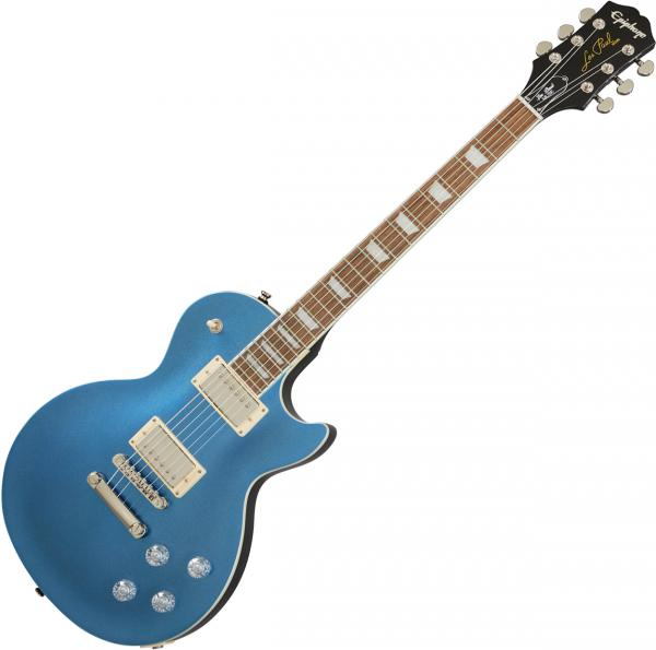 Solid body electric guitar Epiphone Les Paul Muse Modern - Radio blue metallic
