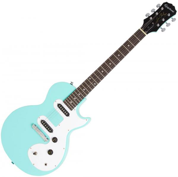 Solid body electric guitar Epiphone Les Paul SL - Turquoise