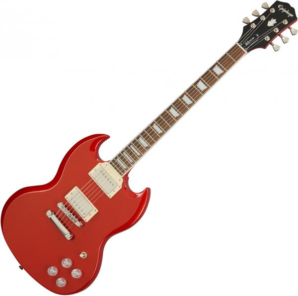 Solid body electric guitar Epiphone SG Muse Modern - Scarlet red metallic