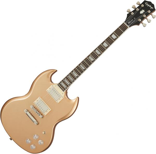 Solid body electric guitar Epiphone SG Muse Modern - Smoked almond metallic