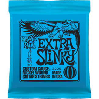 Electric guitar strings Ernie ball Electric (6) 2225 Extra Slinky 08-38 - set of strings