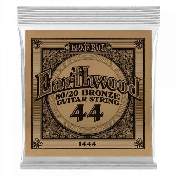 Acoustic guitar strings Ernie ball Folk (1) Earthwood 80/20 Bronze 044 - String by unit