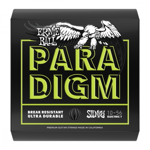 Electric guitar strings Ernie ball Electric (7) 2028 Paradigm Slinky 7-String 10-56