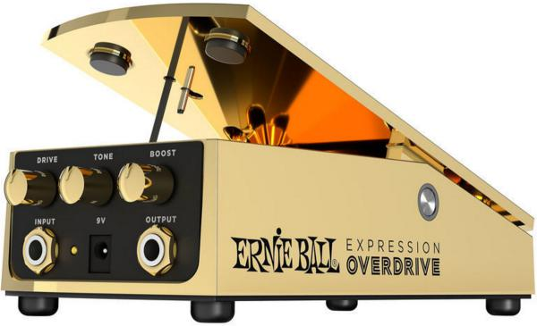 Overdrive, distortion & fuzz effect pedal Ernie ball Expression Overdrive 6183