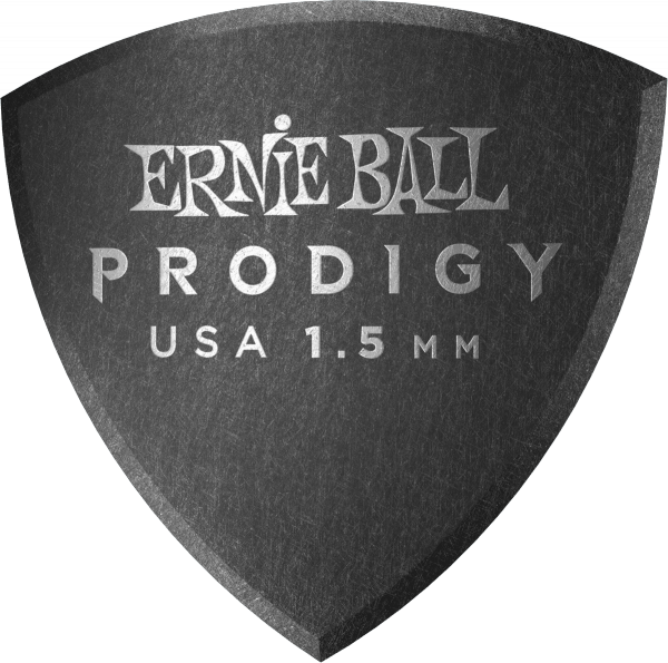 Guitar pick Ernie ball Prodigy Shield Large 1,5mm (X6 Pack)