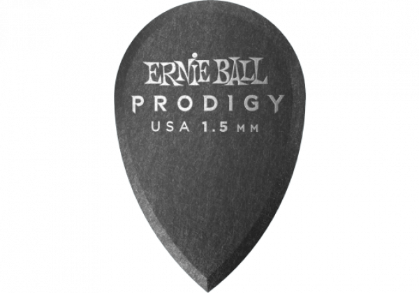 Guitar pick Ernie ball Prodigy Teardrop 1,5mm (X6 Pack)