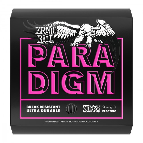 Electric guitar strings Ernie ball Electric (6) Paradigm Slinky 09-42 - Set of strings