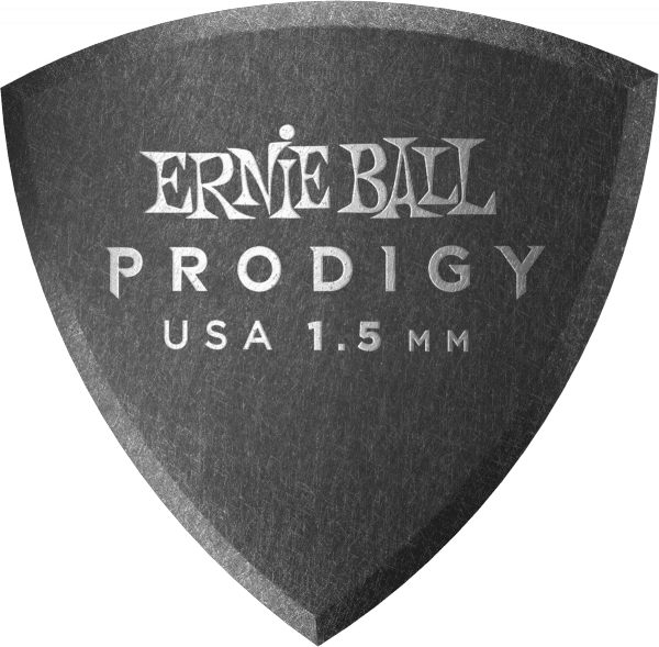 Guitar pick Ernie ball Prodigy Shield 1,5mm (X6 Pack)