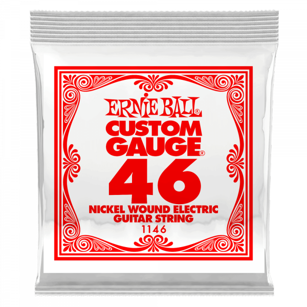 Electric guitar strings Ernie ball Electric (1) 1146 Slinky Nickel Wound 46 - String by unit