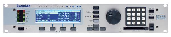 Effects processor  Eventide H7600