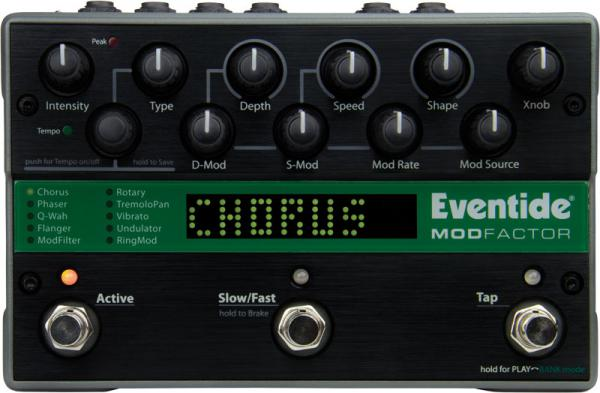 Modulation, chorus, flanger, phaser & tremolo effect pedal Eventide Modfactor