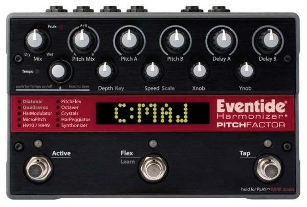 Harmonizer effect pedal Eventide PitchFactor