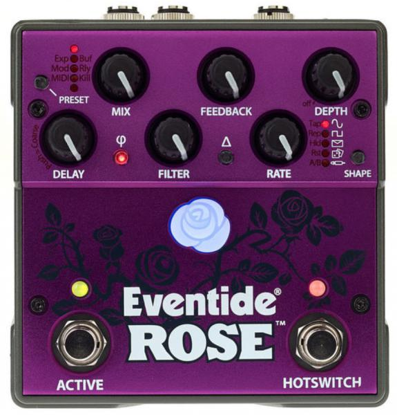 Reverb, delay & echo effect pedal Eventide Rose Modulated Delay