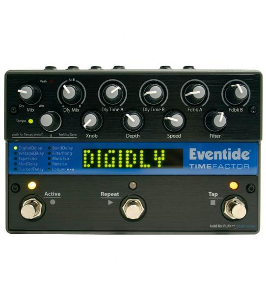 Reverb, delay & echo effect pedal Eventide TimeFactor