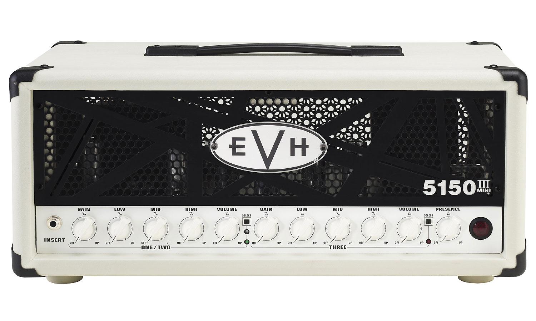 evh 5150iii 50 watts head ivory electric guitar amp head star 39 s music. Black Bedroom Furniture Sets. Home Design Ideas