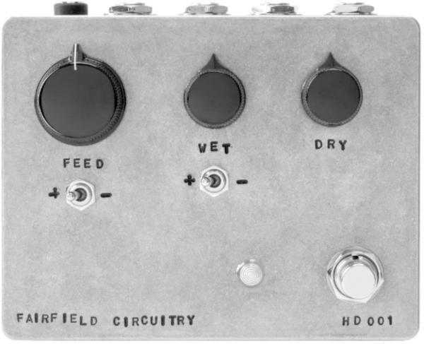 Eq & enhancer effect pedal Fairfield circuitry Hors d'Oeuvre? Active Feedback Loop