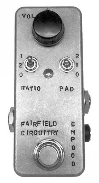 Compressor, sustain & noise gate effect pedal Fairfield circuitry The Accoutant