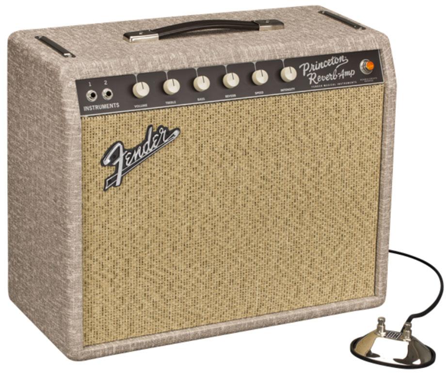 fender 39 65 princeton reverb fawn fsr ltd electric guitar combo amp star 39 s music. Black Bedroom Furniture Sets. Home Design Ideas