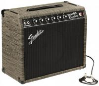 Electric guitar combo amp Fender '65 Princeton Reverb FSR Ltd - Chilewich Charcoal