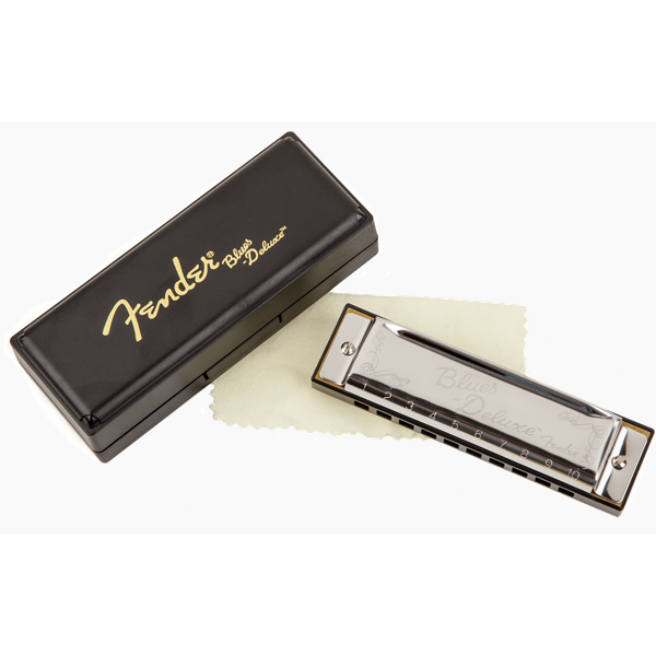 Chromatic harmonica Fender Blues Deluxe D