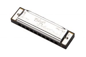 Chromatic harmonica Fender Blues Deluxe A